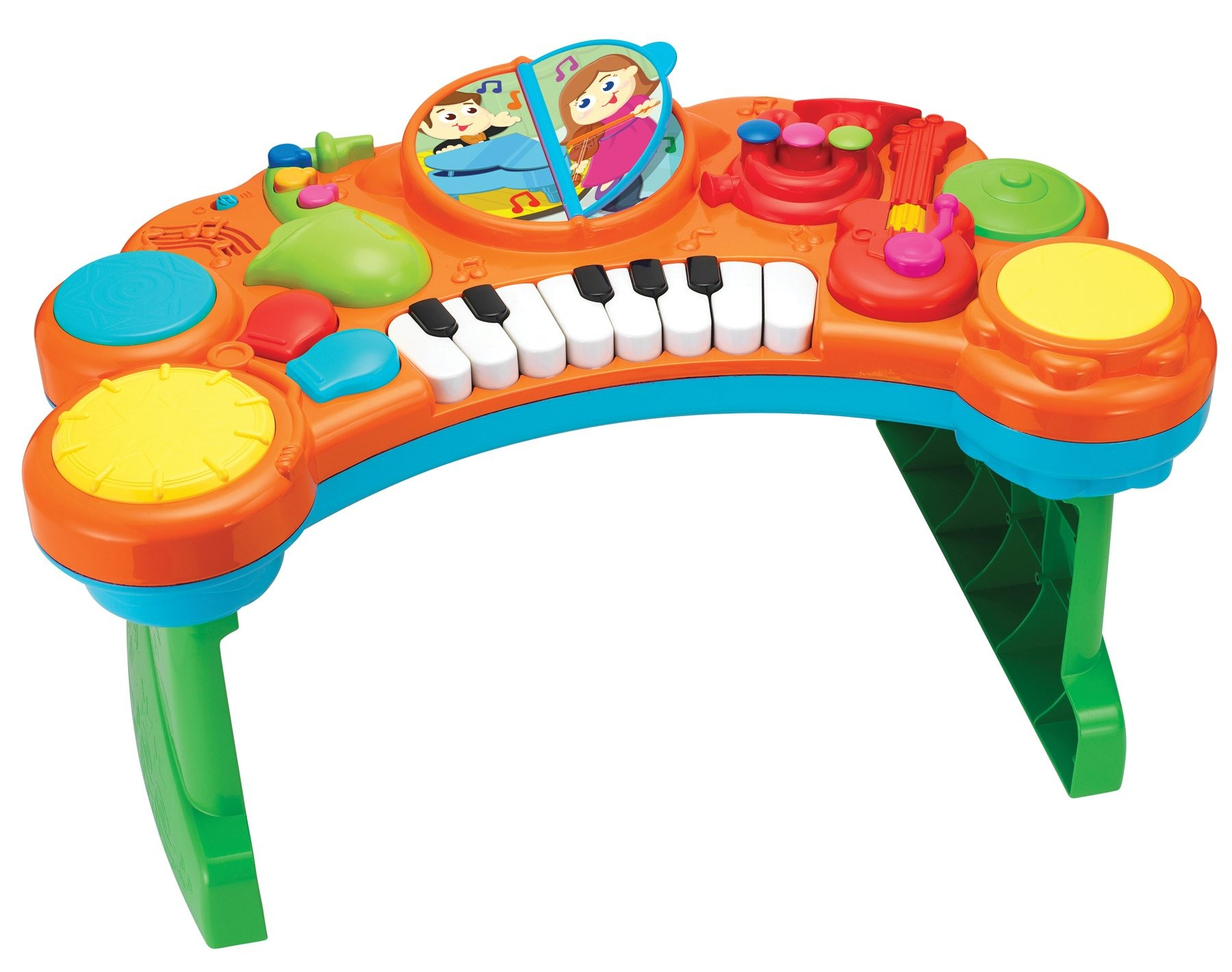 Toy Express Play Zone 10 In 1 Light And Sound Music Combo
