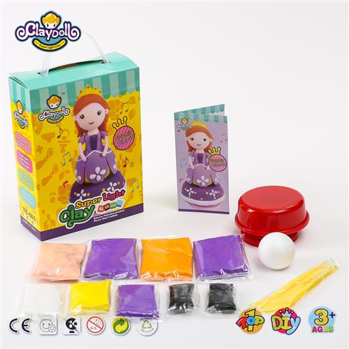 Clay Doll Clay Princess Slime Clay Kids