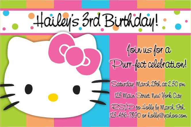 Themed Party Invites