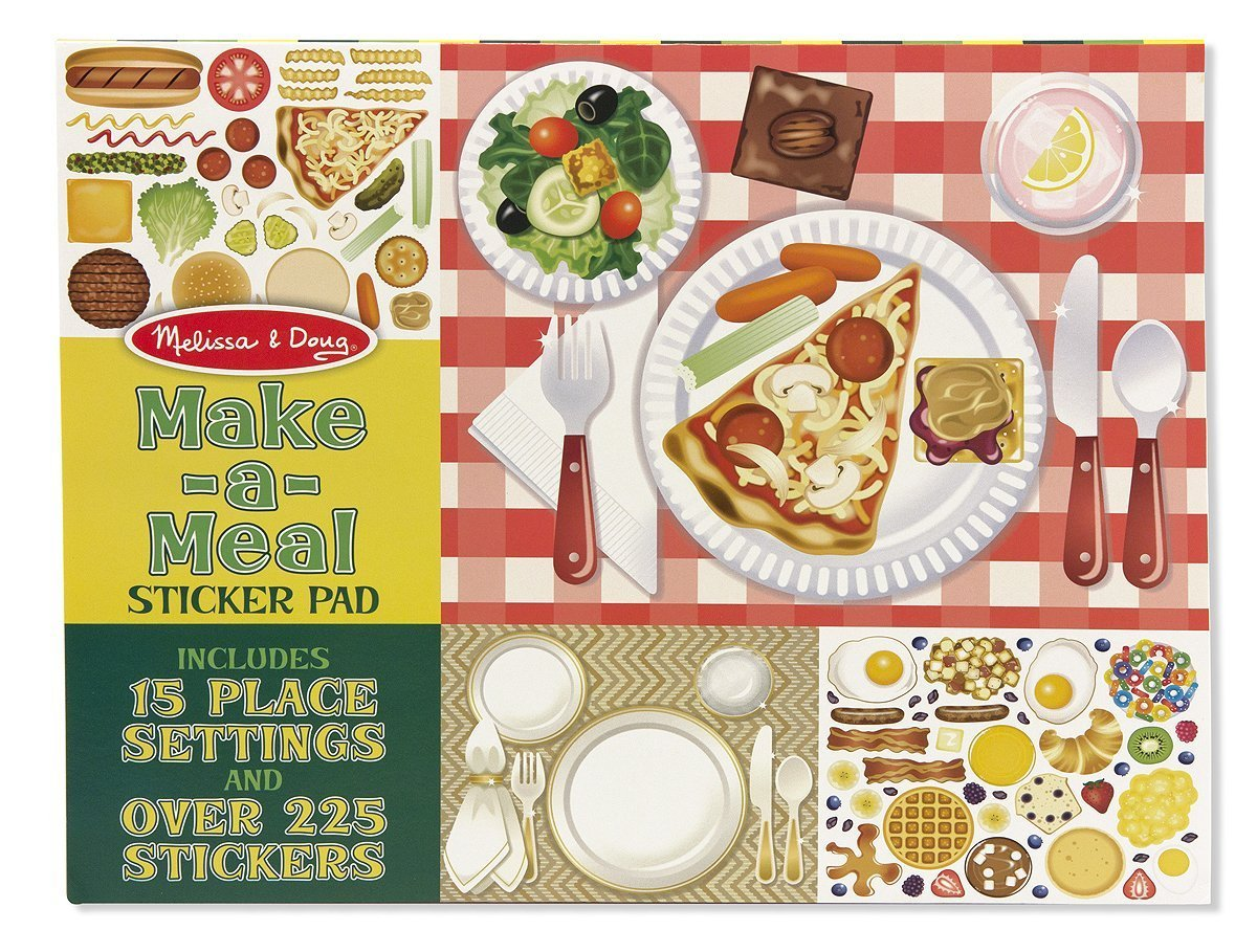 Make a Meal - Sticker Pad