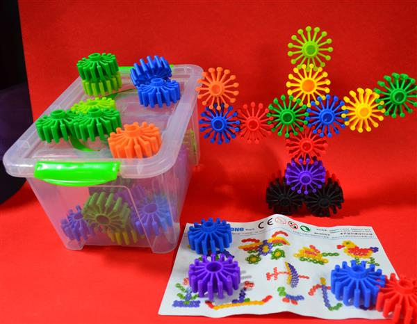 Building Blocks 3D Puzzle Multicolor