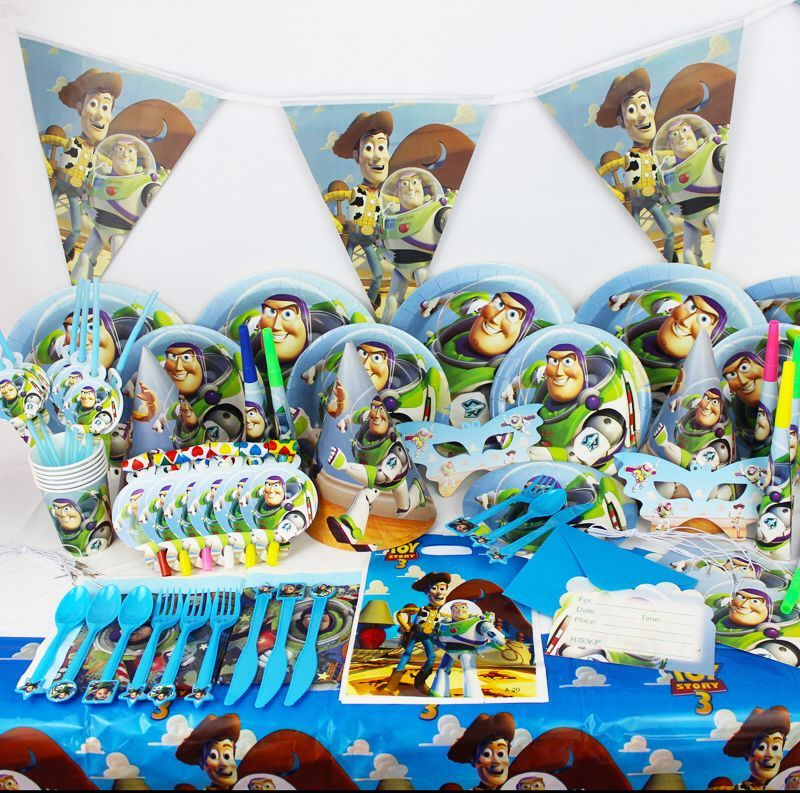 Toy Story Party Pack - 68 Pieces