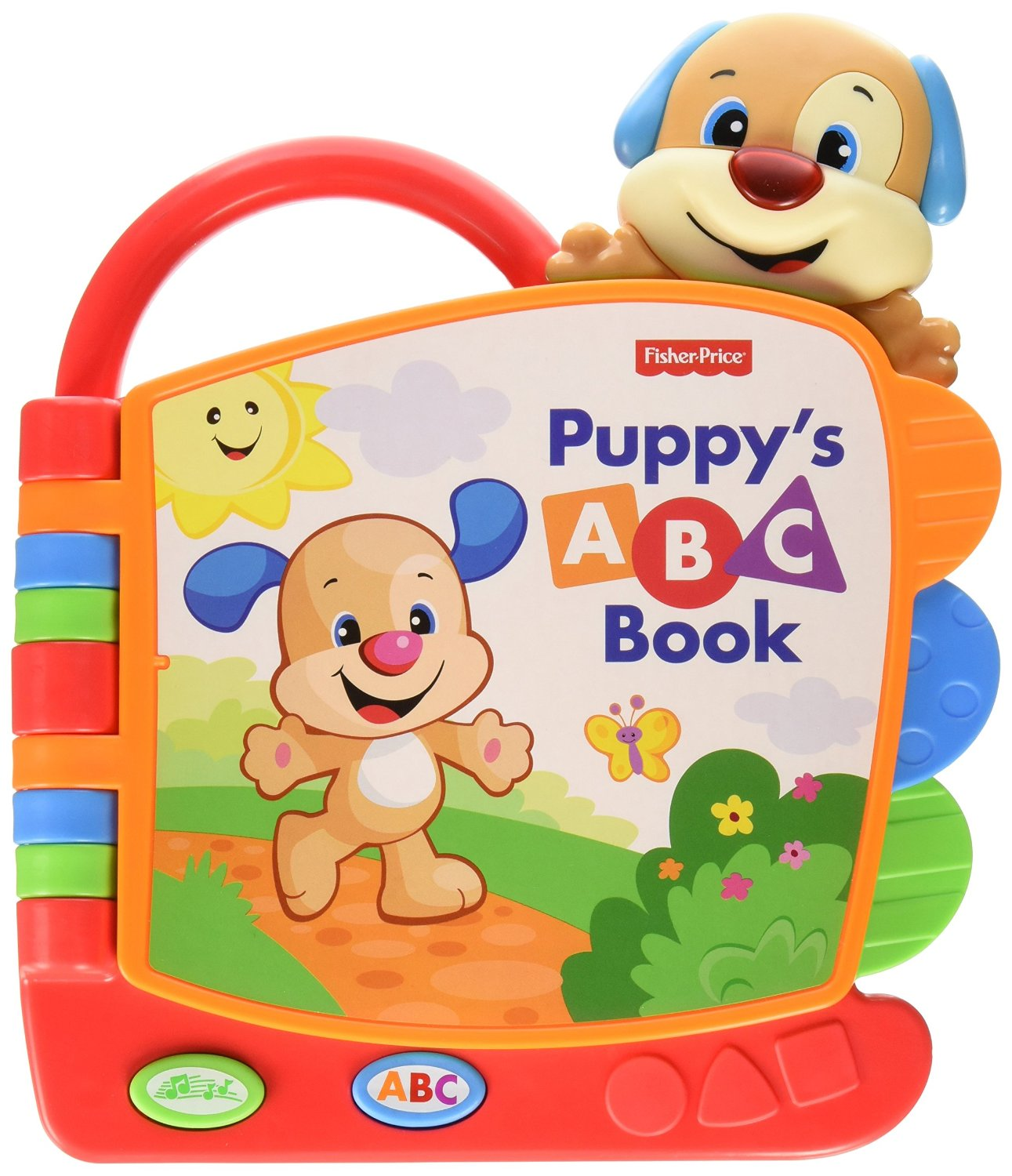 Fisher Price Laugh and Learn Puppy's ABC Book