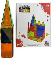 3-D Magnetic Building Tiles Blocks