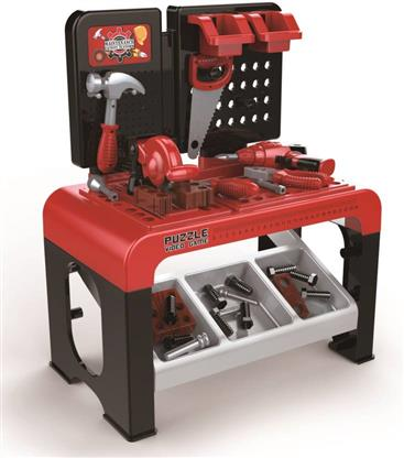 3 in 1 Play & Learn Kids Tools Workshop Bench for Junior Builders