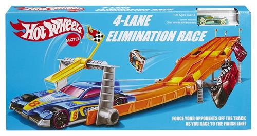 4-Lane Elimination Race Track Set