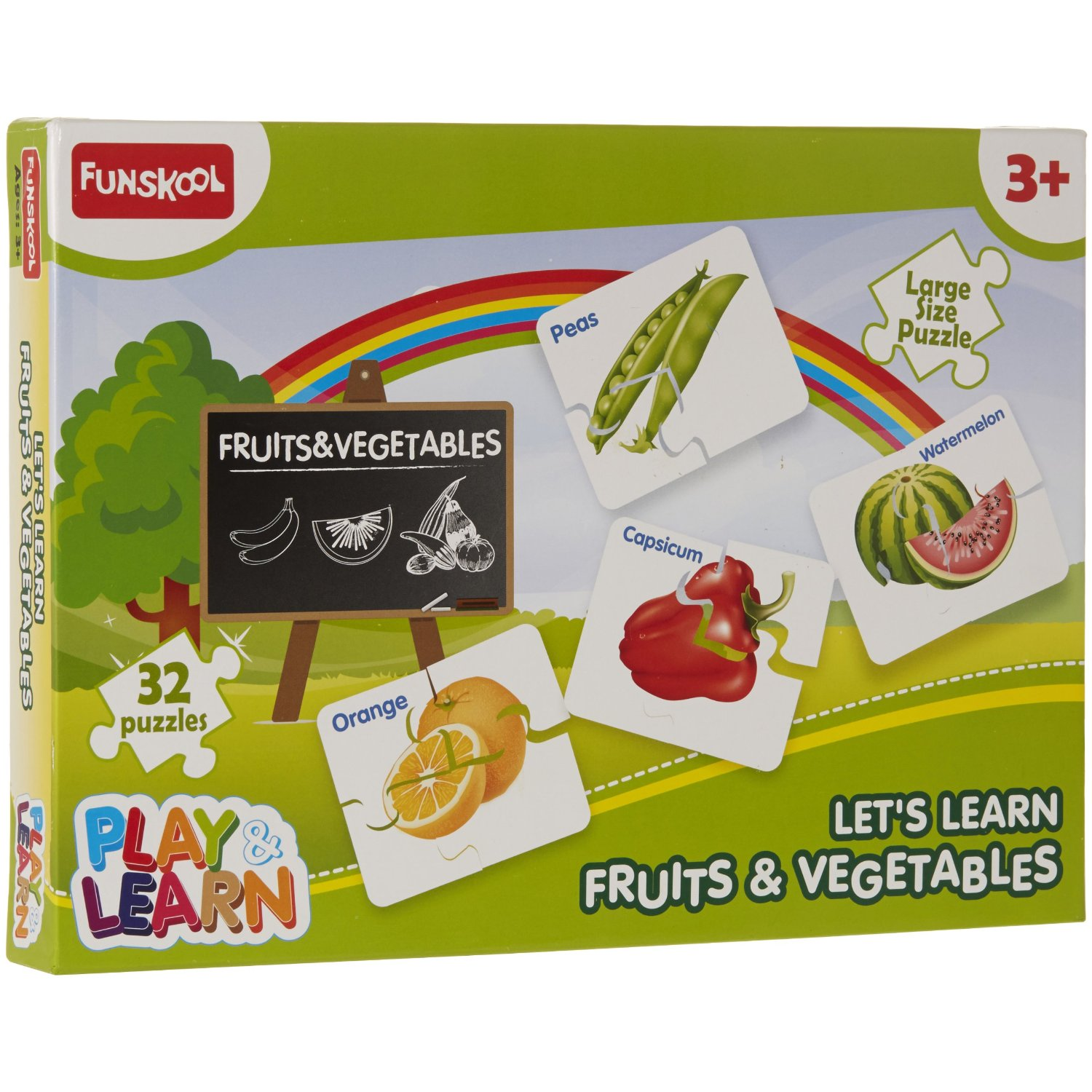 Lets Learn Fruits and Vegetables
