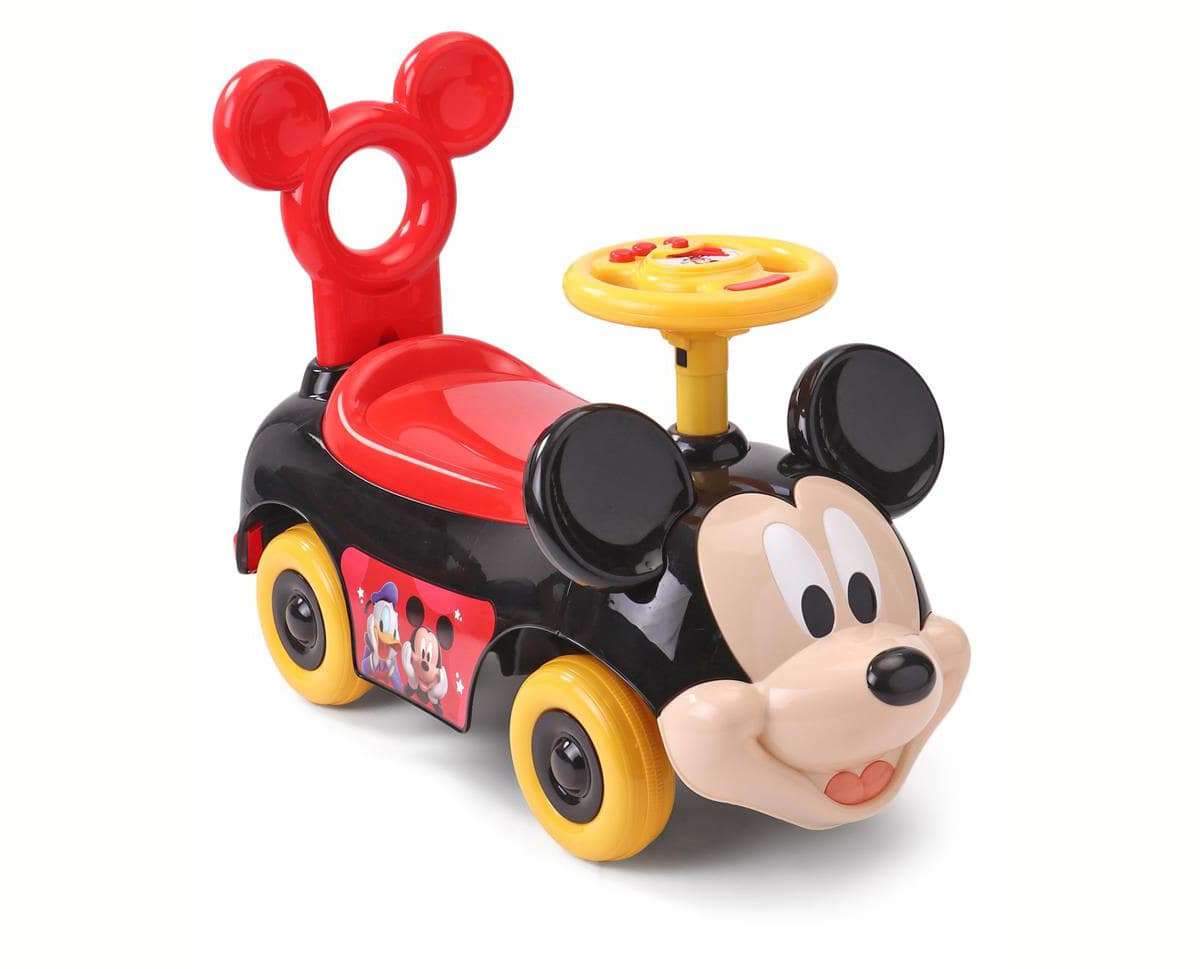 Mickey Mouse Push Ride On Car