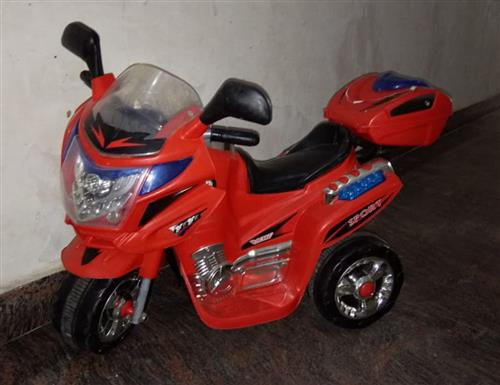 Jr Battery Operated Bike Red