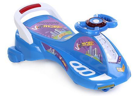 Toyzone Twister Magic Car City - Blue And White