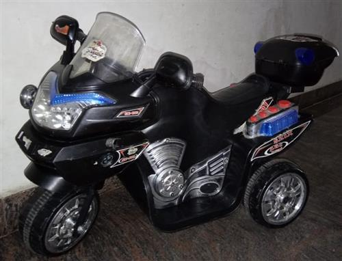Jr Battery Operated Bike Black