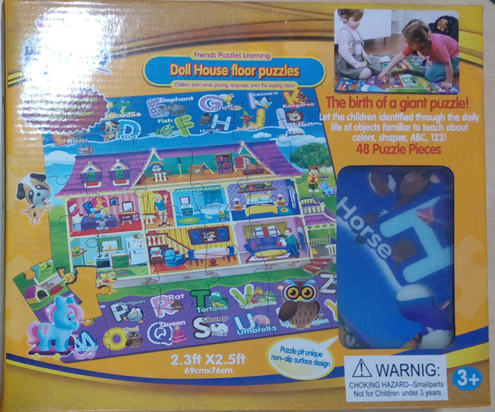 Doll House floor puzzles