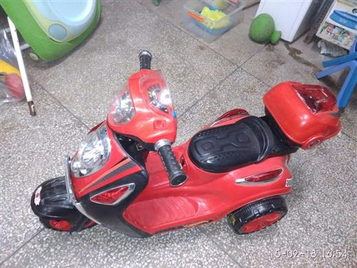 Battery Operated Scooty Red
