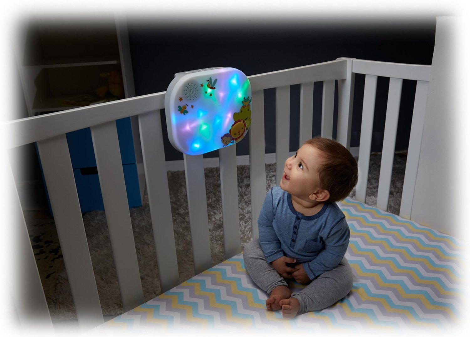 Light Show Crib, Soothe 'n Play