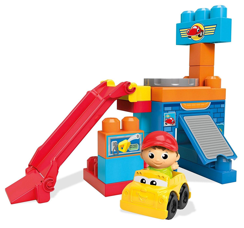 Mega Bloks First Builders Spinning Garage