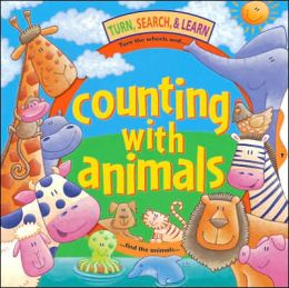 Turn, Search and Learn Counting with Animals