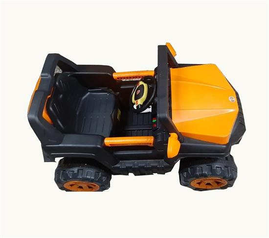 Battery Operated Jeep Orange and black