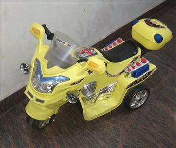Jr Battery Operated bike yellow