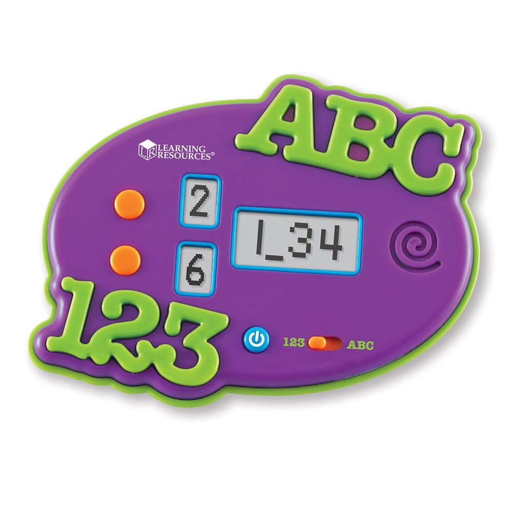 ABC & 123 Electronic Flash Cards