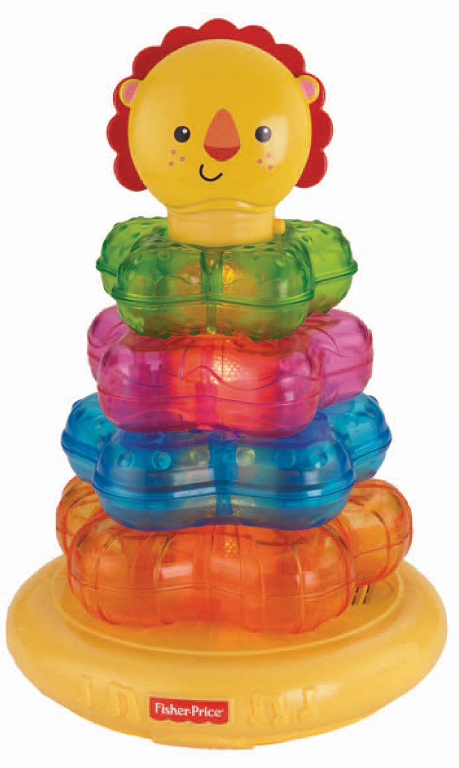 Light Up Lion Stacker