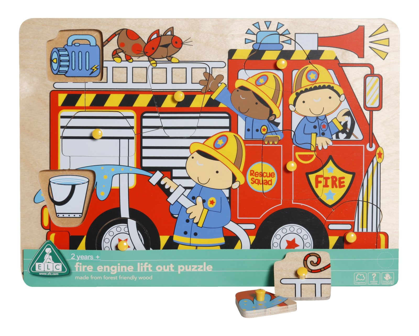 Fire Engine Lift Out Puzzle
