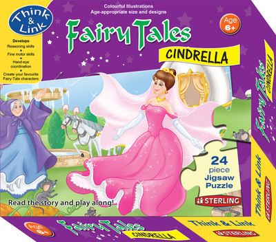 Fairy Tales Cinderella Jigsaw Puzzle