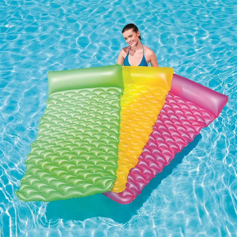 Inflatable 84x34 inch float n Roll Swimming Pool