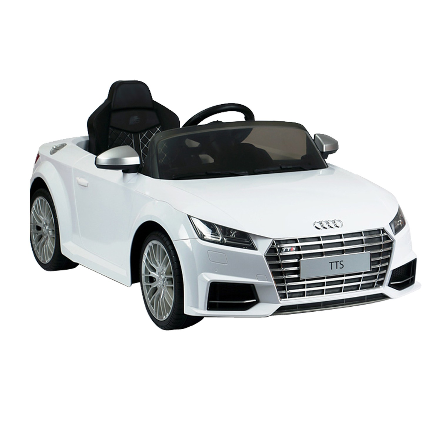 Audi Battery Operated Car White