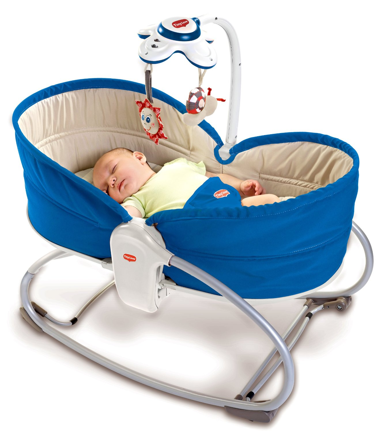 3 in 1 Rocker Napper Blue