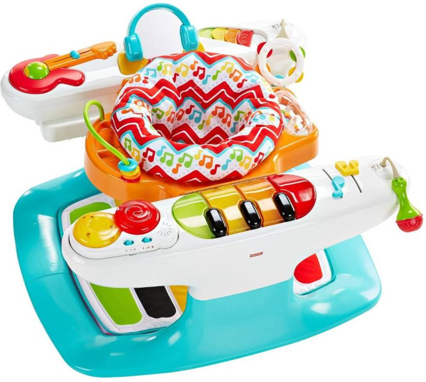 Fisher Price 4-in-1 Step 'n Play Piano  (Multicolor)