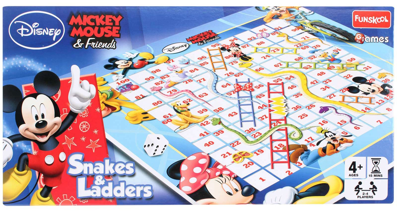 Disney Mickey Mouse & Friends Snakes & Ladders