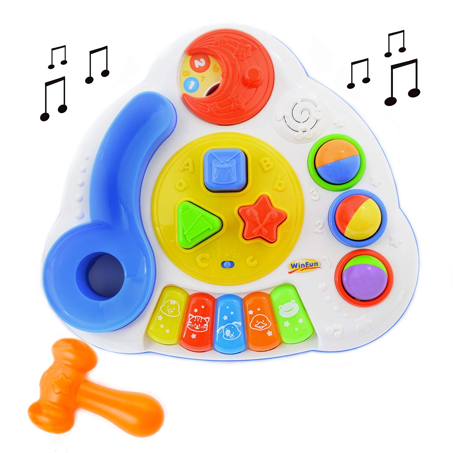 Balls and Shapes Musical Table