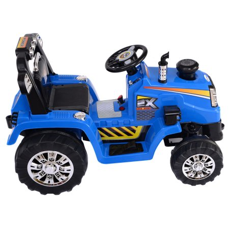 Battery Operated Tractor blue
