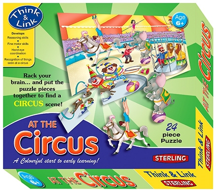 At The Circus Jigsaw Puzzle