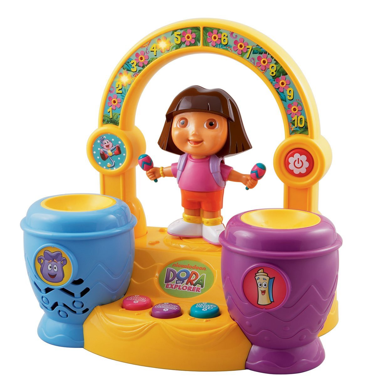 Dora Learning Drums