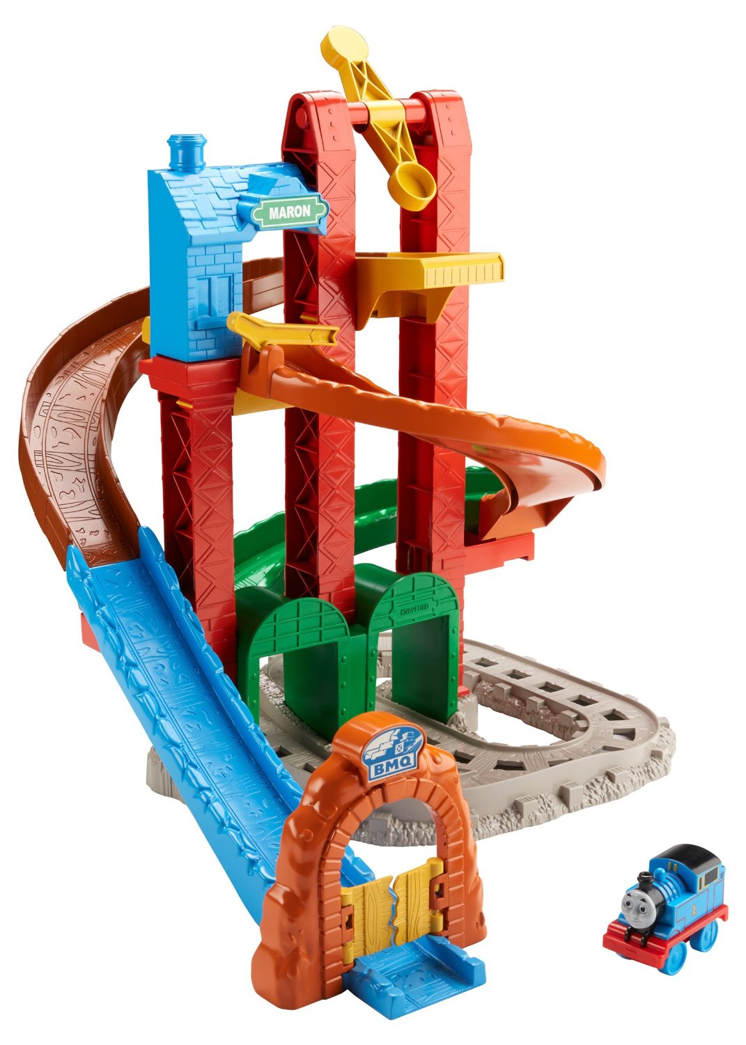 Twisting Tower Tracks