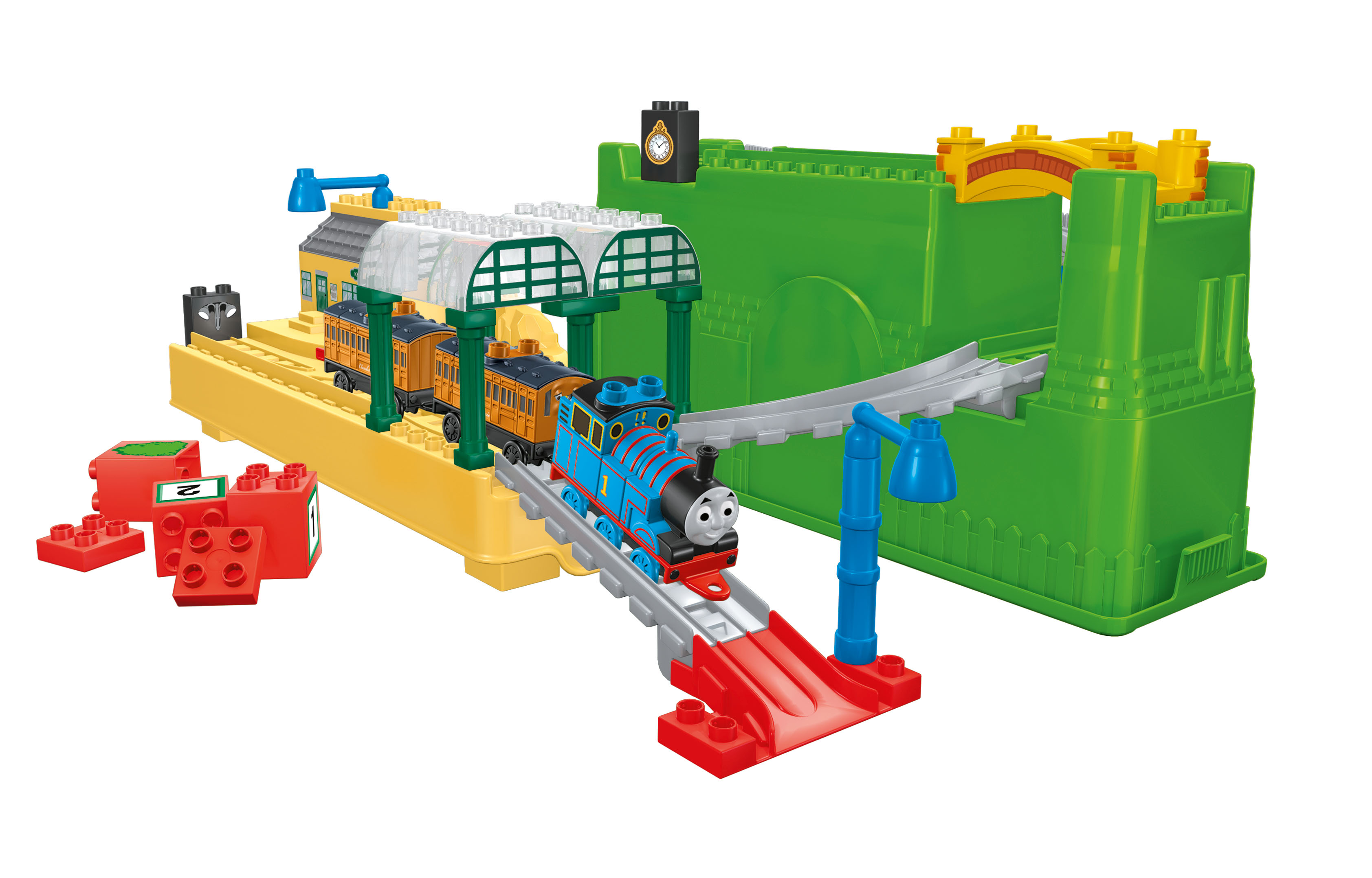 Mega Bloks Thomas & Friends All Aboard at Knapford Station