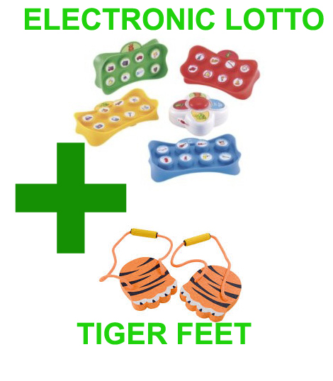 Electronic Lotto and Tiger Feet