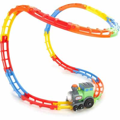 Tumble Track Train Play Set