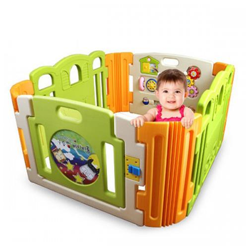 Baby Play Yard 4 Panel with Activity