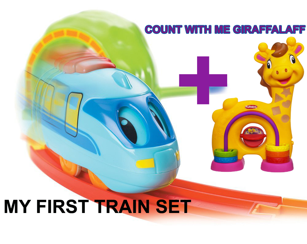 My First Train Set and Count With Me Giraffalaff