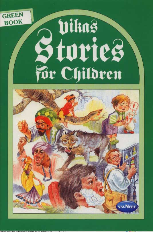 Vikas Stories for Children Green Book