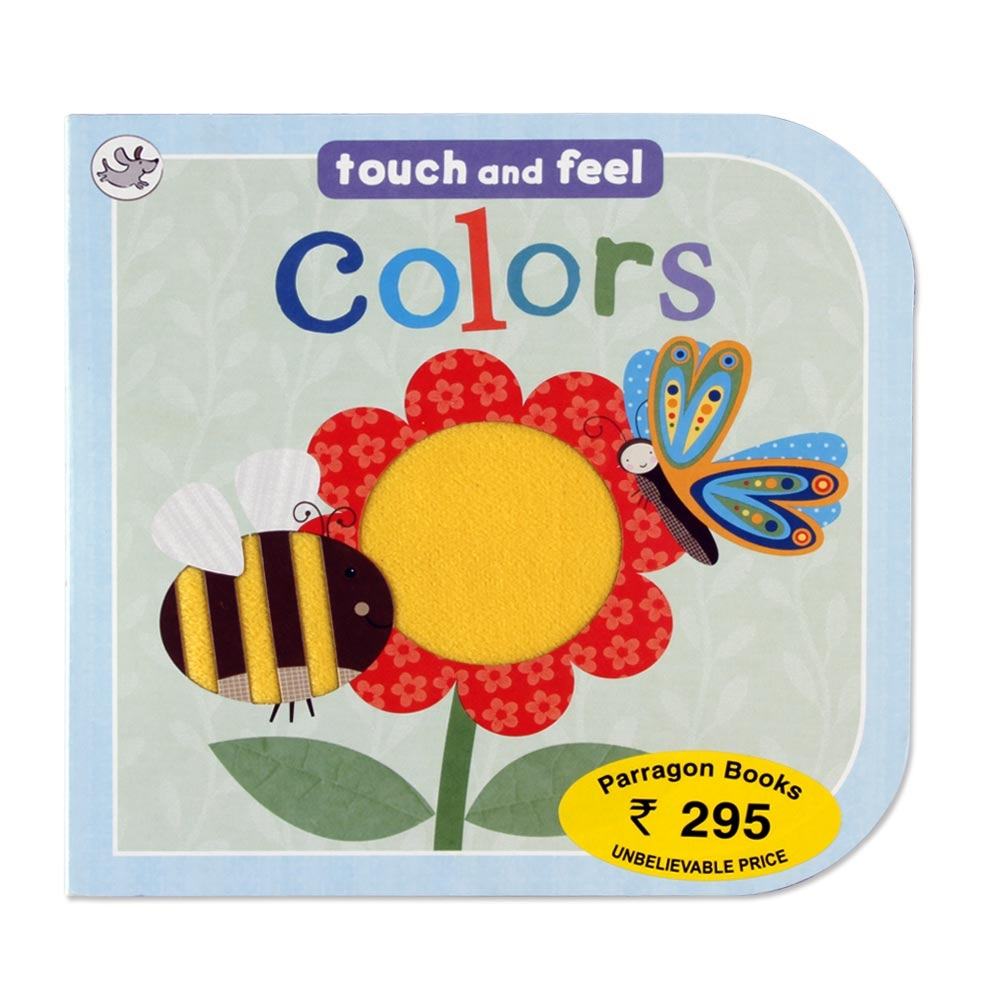 Touch And Feel Toys : Parragon touch and feel colors