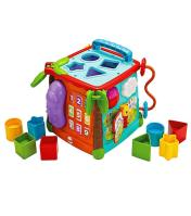 Fisher Price play and learn activity cube.